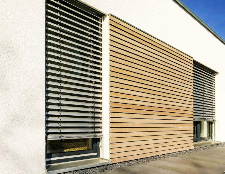 Sonnenschutz Raffstore von Fenster und Türen Wagner Hemau